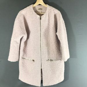 Forever 21 Oversize jacket full zip wool lining
